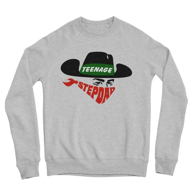 F*CK IT, MASK ON Men's Sponge Fleece Sweatshirt by Teenage Stepdad