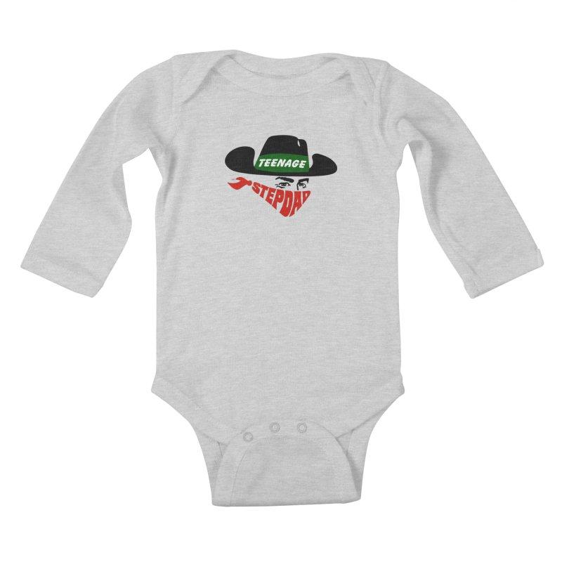 F*CK IT, MASK ON Kids Baby Longsleeve Bodysuit by Teenage Stepdad
