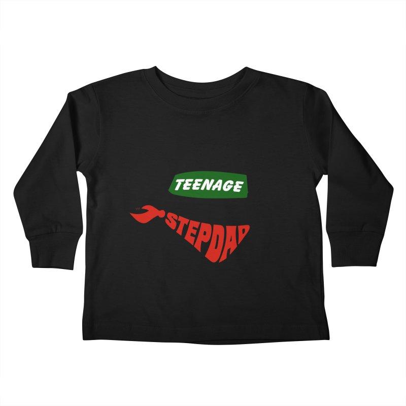 F*CK IT, MASK ON Kids Toddler Longsleeve T-Shirt by Teenage Stepdad