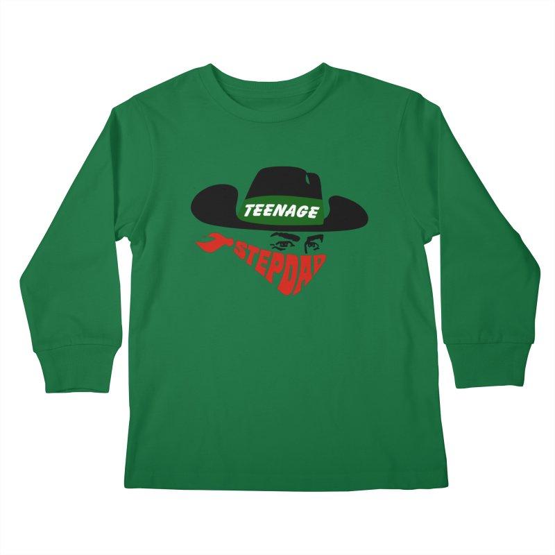 F*CK IT, MASK ON Kids Longsleeve T-Shirt by Teenage Stepdad