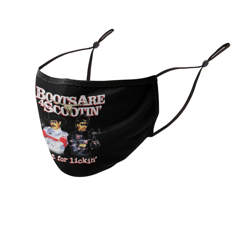 BOOTS AIN'T FOR LICKIN' Accessories Face Mask by Teenage Stepdad Shop | 90s Inspired Apparel