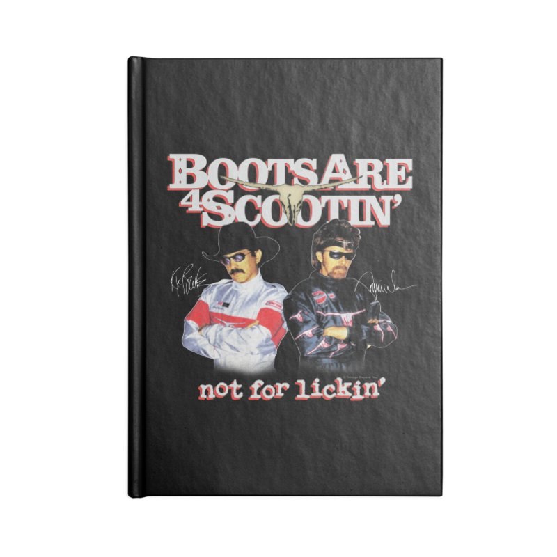 BOOTS AIN'T FOR LICKIN' Accessories Notebook by Teenage Stepdad Shop | 90s Inspired Apparel
