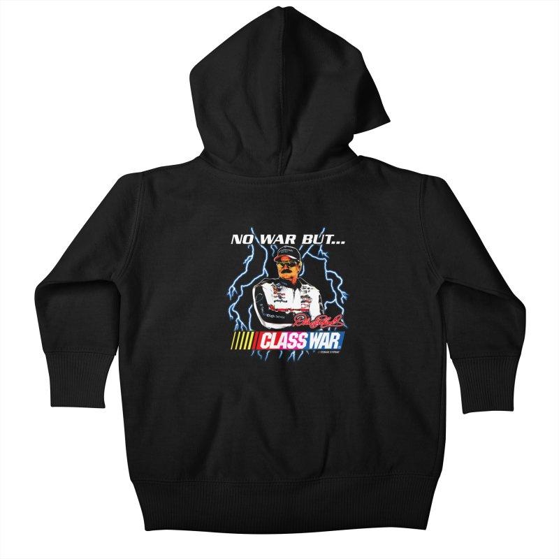 NO WAR BUT CLASS WAR Kids Baby Zip-Up Hoody by Teenage Stepdad Shop | 90s Inspired Apparel