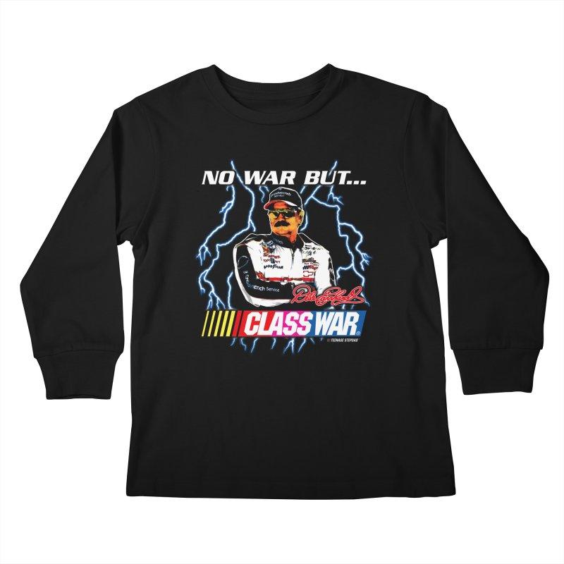 NO WAR BUT CLASS WAR Kids Longsleeve T-Shirt by Teenage Stepdad Shop   90s Inspired Apparel