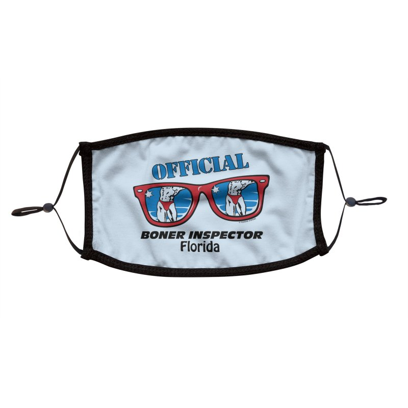 OFFICIAL BONER INSPECTOR Florida Accessories Face Mask by Teenage Stepdad Shop | 90s Inspired Apparel