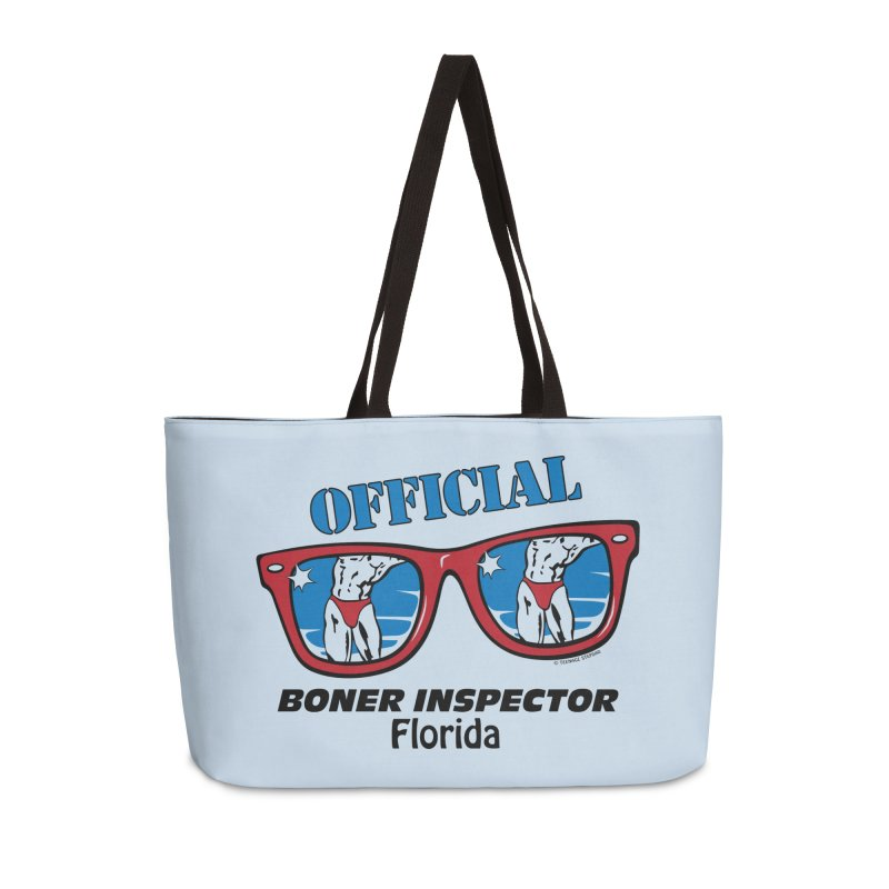 OFFICIAL BONER INSPECTOR Florida Accessories Bag by Teenage Stepdad