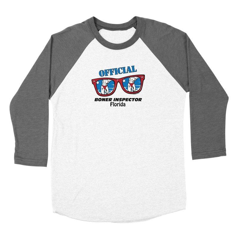 OFFICIAL BONER INSPECTOR Florida Women's Longsleeve T-Shirt by Teenage Stepdad Shop | 90s Inspired Apparel