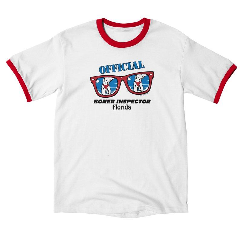 OFFICIAL BONER INSPECTOR Florida Women's T-Shirt by Teenage Stepdad Shop   90s Inspired Apparel