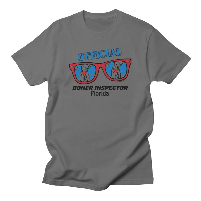 OFFICIAL BONER INSPECTOR Florida Men's T-Shirt by Teenage Stepdad Shop | 90s Inspired Apparel