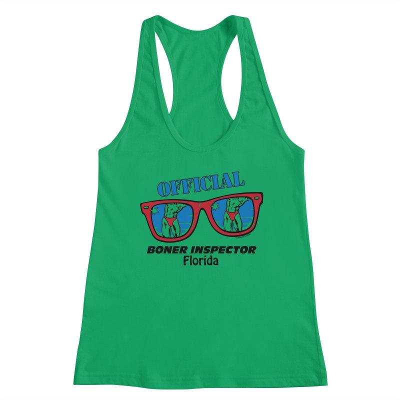 OFFICIAL BONER INSPECTOR Florida Women's Tank by Teenage Stepdad Shop | 90s Inspired Apparel