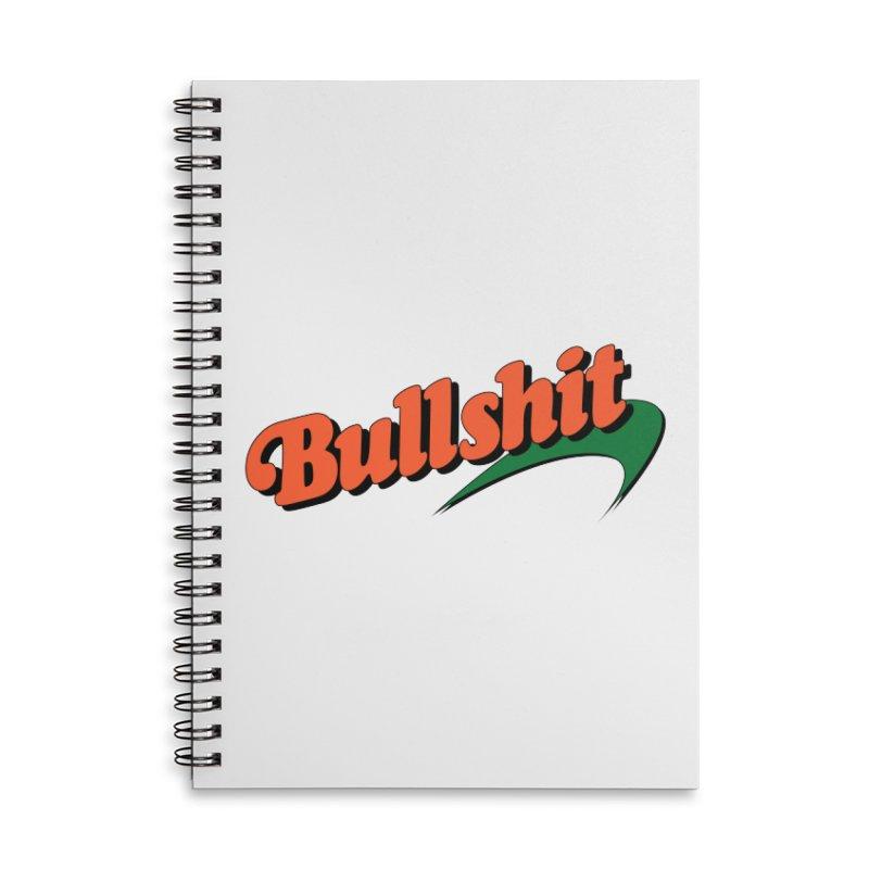 BULLSHIT Accessories Notebook by Teenage Stepdad Shop   90s Inspired Apparel