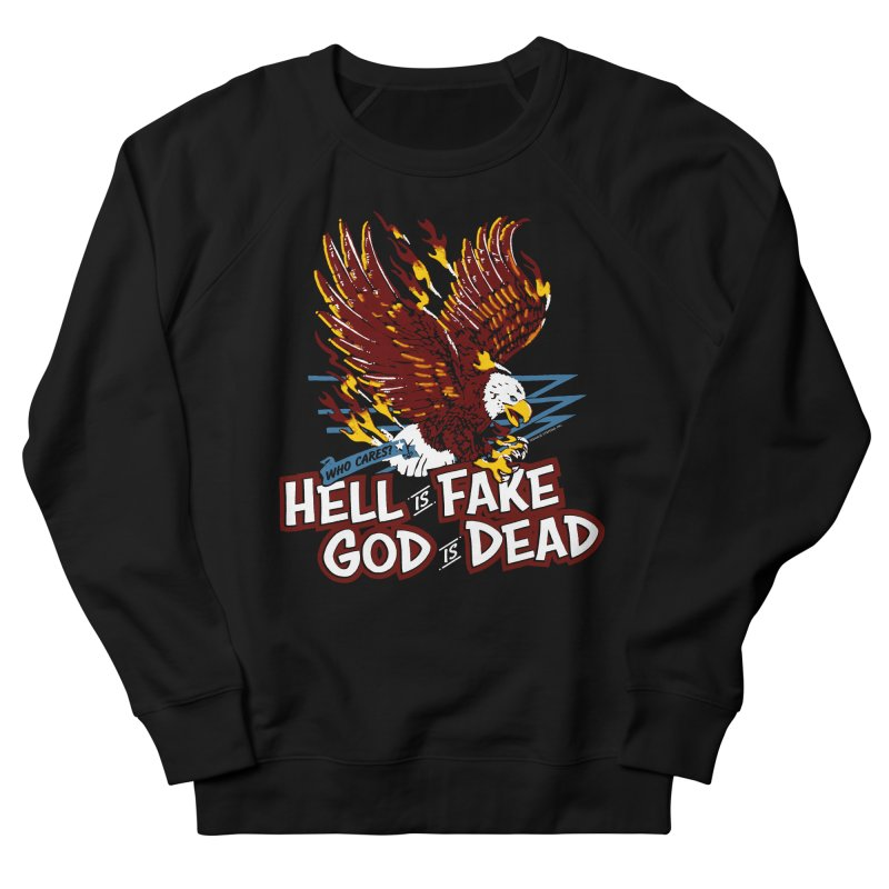 WHO CARES? Men's Sweatshirt by Teenage Stepdad Shop   90s Inspired Apparel