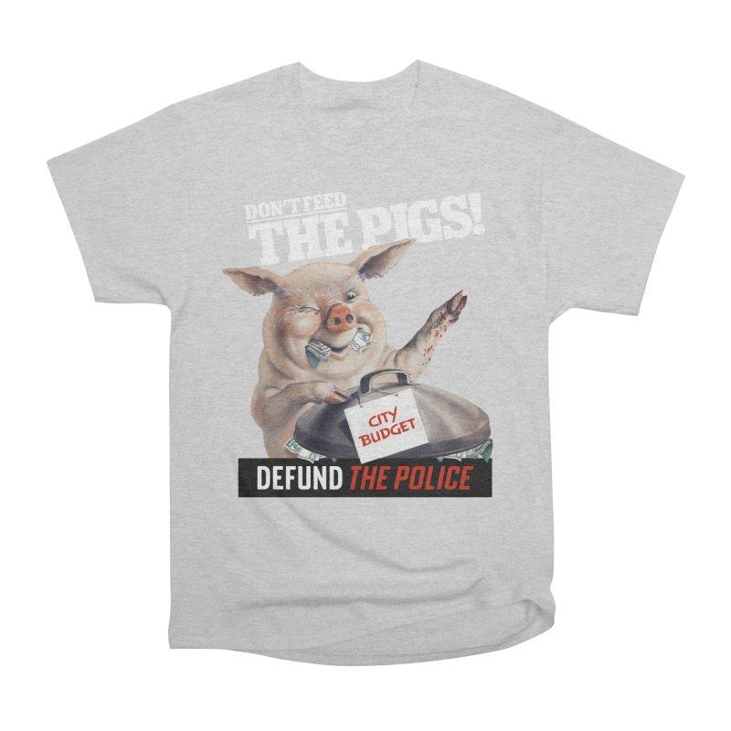 DEFUND THE POLICE (for Black Lives Matter) Men's T-Shirt by Teenage Stepdad Shop | 90s Inspired Apparel