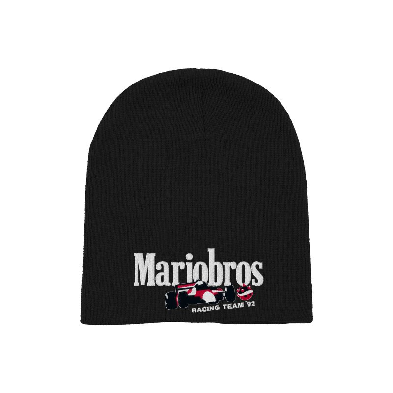 Mariobros Racing Team Accessories Hat by Teenage Stepdad Shop | 90s Inspired Apparel