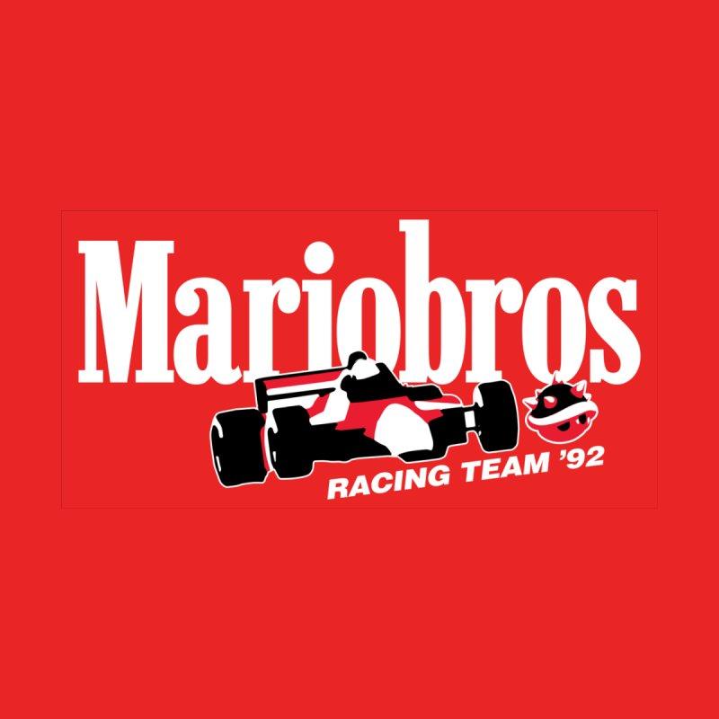 Mariobros Racing Team Accessories Hat by Teenage Stepdad