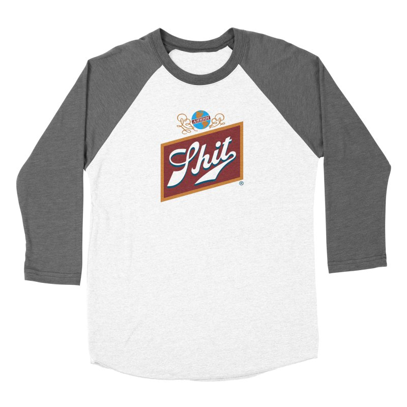 AHHHH SHIT Women's Longsleeve T-Shirt by Teenage Stepdad Shop | 90s Inspired Apparel