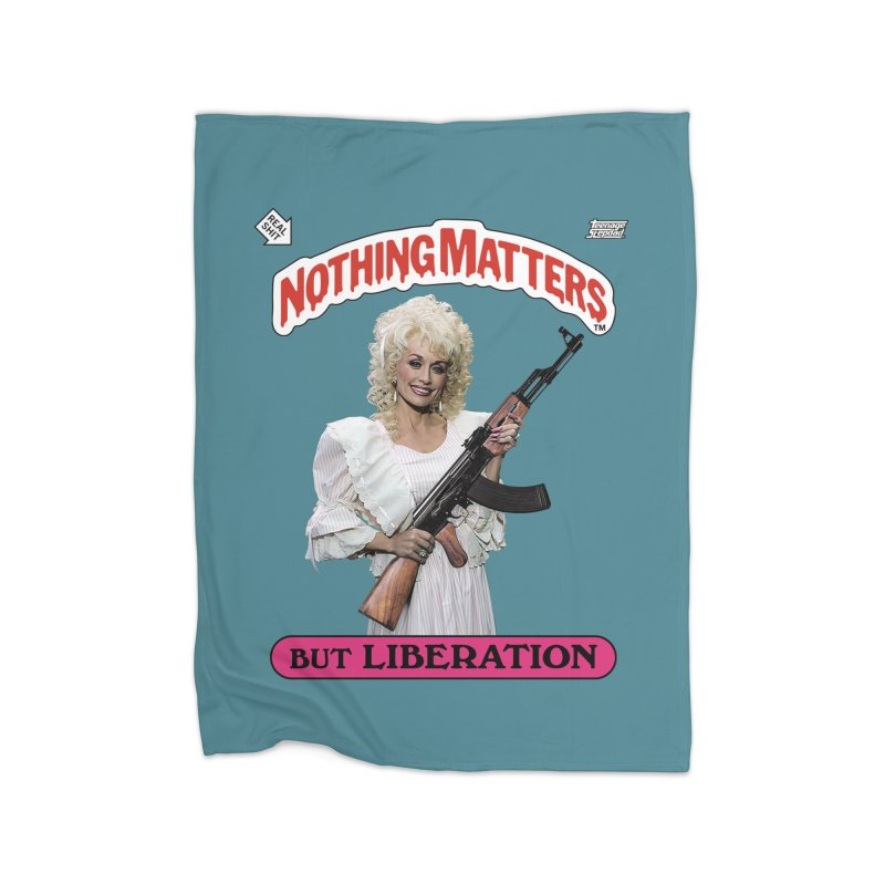 NOTHING MATTERS Home Blanket by Teenage Stepdad Shop | 90s Inspired Apparel