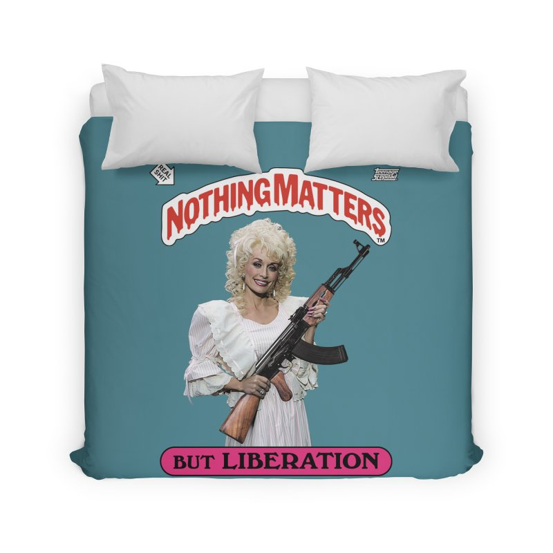 NOTHING MATTERS Home Duvet by Teenage Stepdad Shop   90s Inspired Apparel