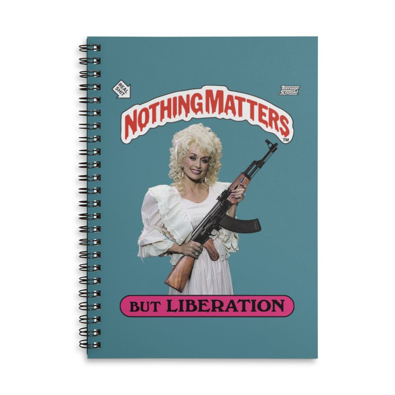 NOTHING MATTERS Accessories Notebook by Teenage Stepdad Shop   90s Inspired Apparel