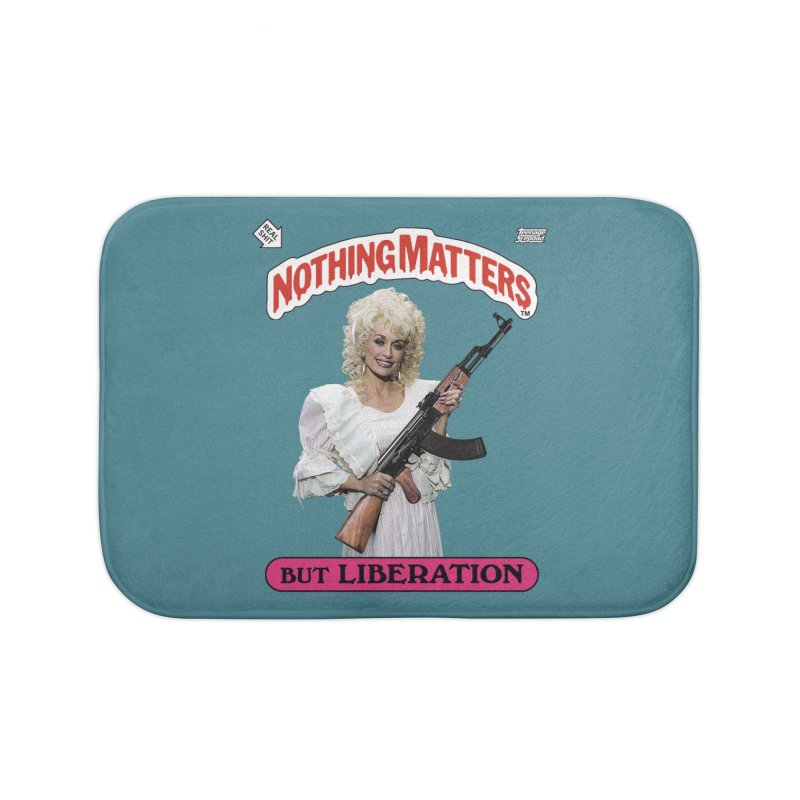 NOTHING MATTERS Home Bath Mat by Teenage Stepdad Shop | 90s Inspired Apparel