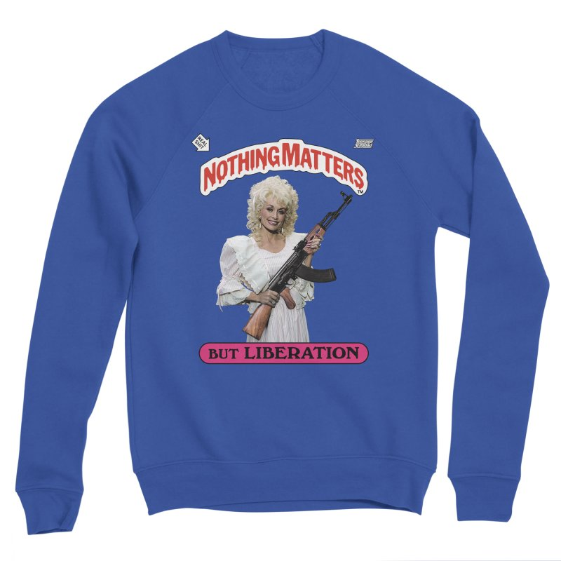 NOTHING MATTERS Men's Sweatshirt by Teenage Stepdad Shop   90s Inspired Apparel