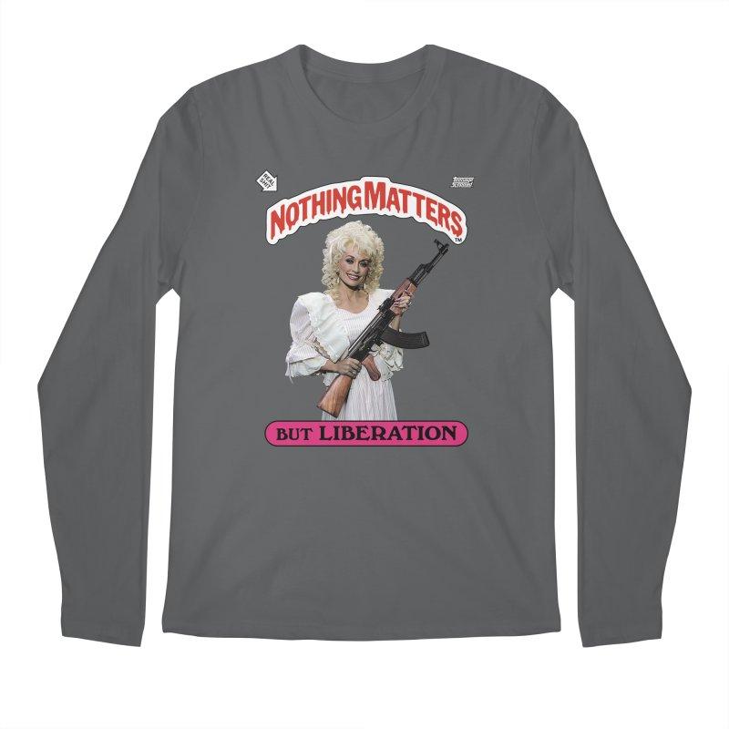 NOTHING MATTERS Men's Longsleeve T-Shirt by Teenage Stepdad Shop   90s Inspired Apparel