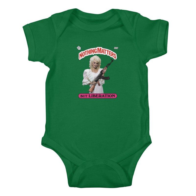 NOTHING MATTERS Kids Baby Bodysuit by Teenage Stepdad Shop | 90s Inspired Apparel
