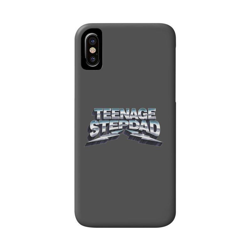 MAXIMUM STEPDAD Accessories Phone Case by Teenage Stepdad