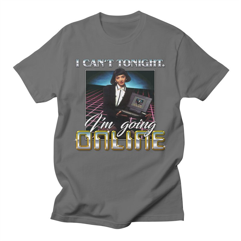 CAN'T TONIGHT Men's T-Shirt by Teenage Stepdad Shop   90s Inspired Apparel
