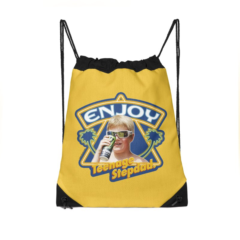 SMOOTH CHARACTER Accessories Drawstring Bag Bag by Teenage Stepdad