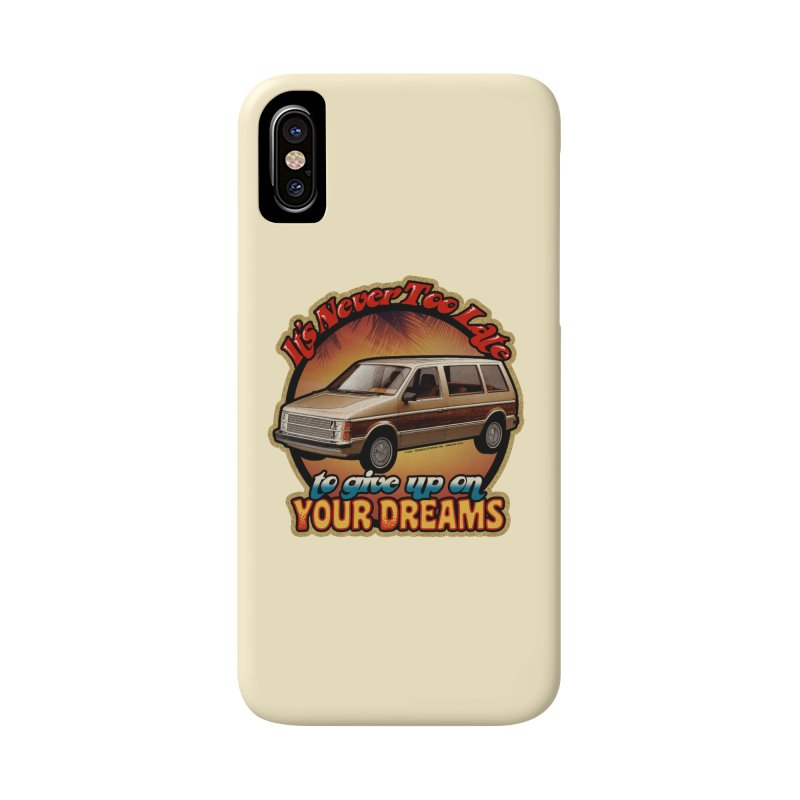 MINIVAN DREAMS Accessories Phone Case by Teenage Stepdad