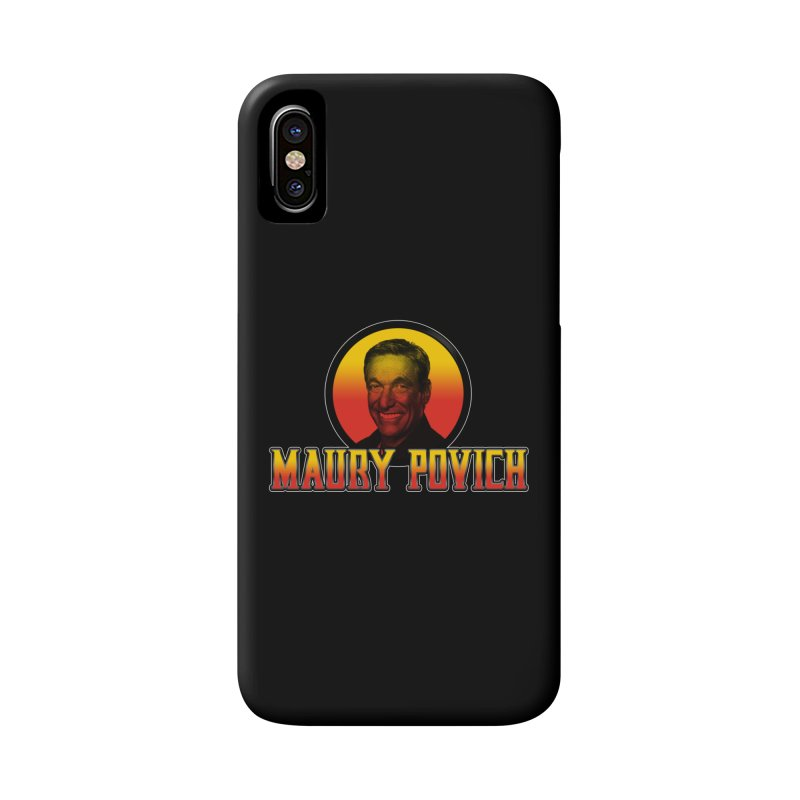 MAURY KOMBAT Accessories Phone Case by Teenage Stepdad