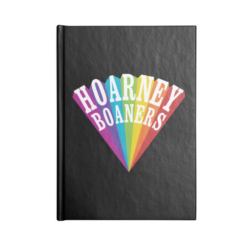 BOANERS RISING Accessories Blank Journal Notebook by Teenage Stepdad