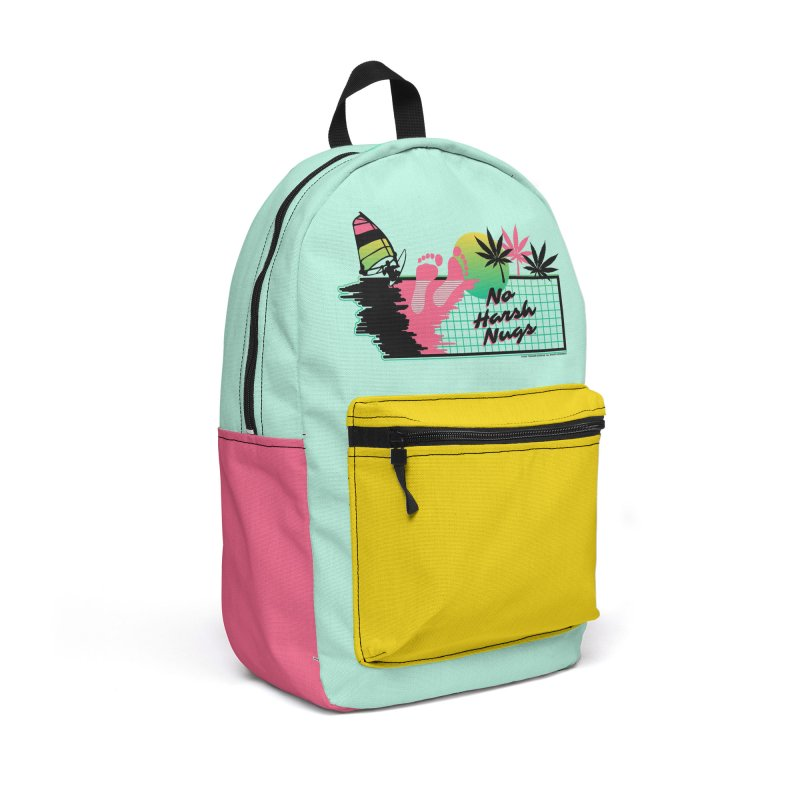 NO HARSH NUGS Accessories Backpack Bag by Teenage Stepdad