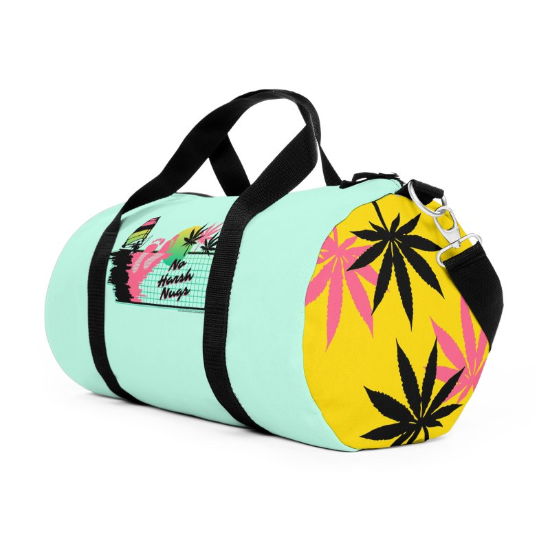 NO HARSH NUGS Accessories Duffel Bag Bag by Teenage Stepdad