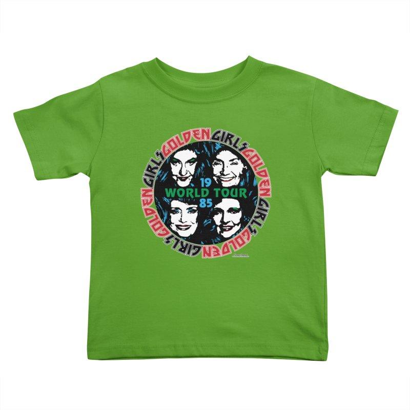 GOLDEN GIRLS WORLD TOUR 1985 Kids Toddler T-Shirt by Teenage Stepdad