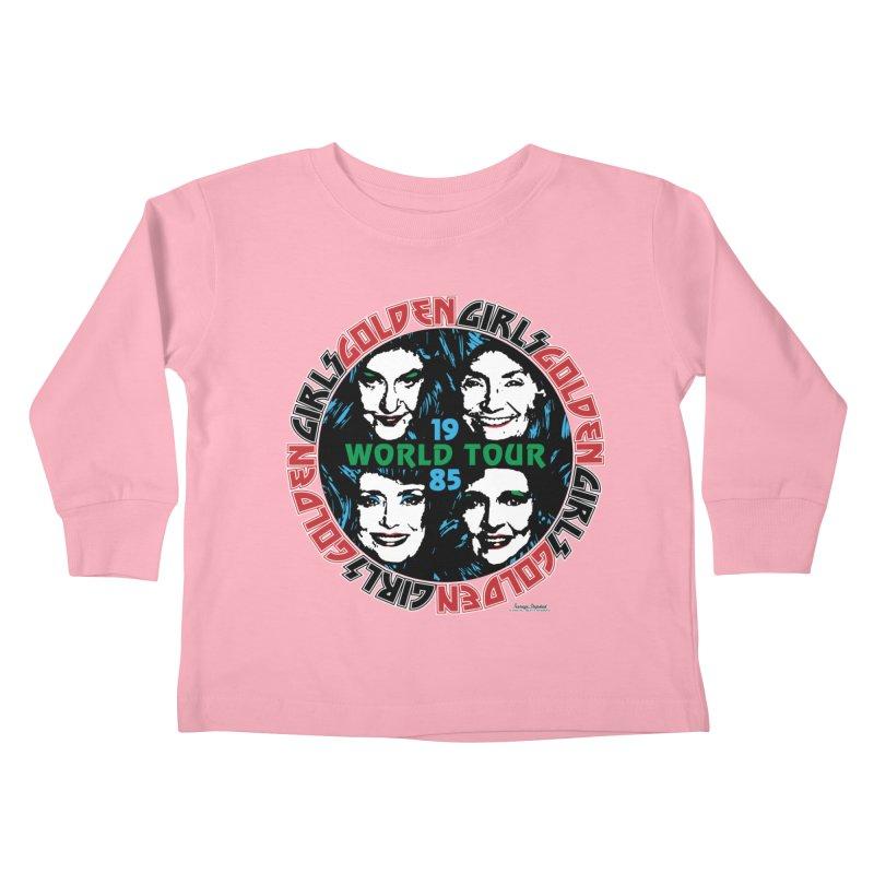GOLDEN GIRLS WORLD TOUR 1985 Kids Toddler Longsleeve T-Shirt by Teenage Stepdad