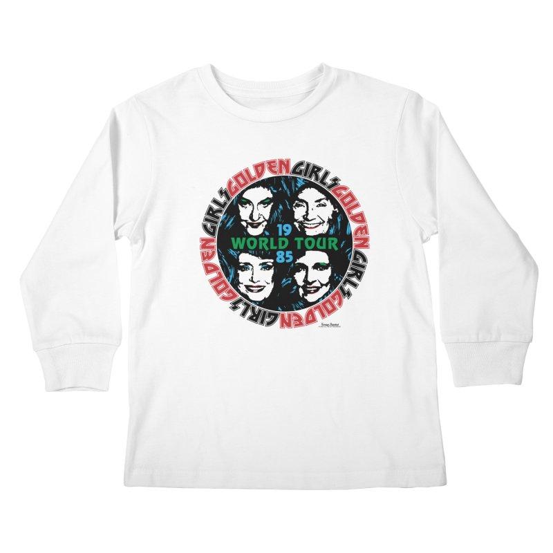 GOLDEN GIRLS WORLD TOUR 1985 Kids Longsleeve T-Shirt by Teenage Stepdad