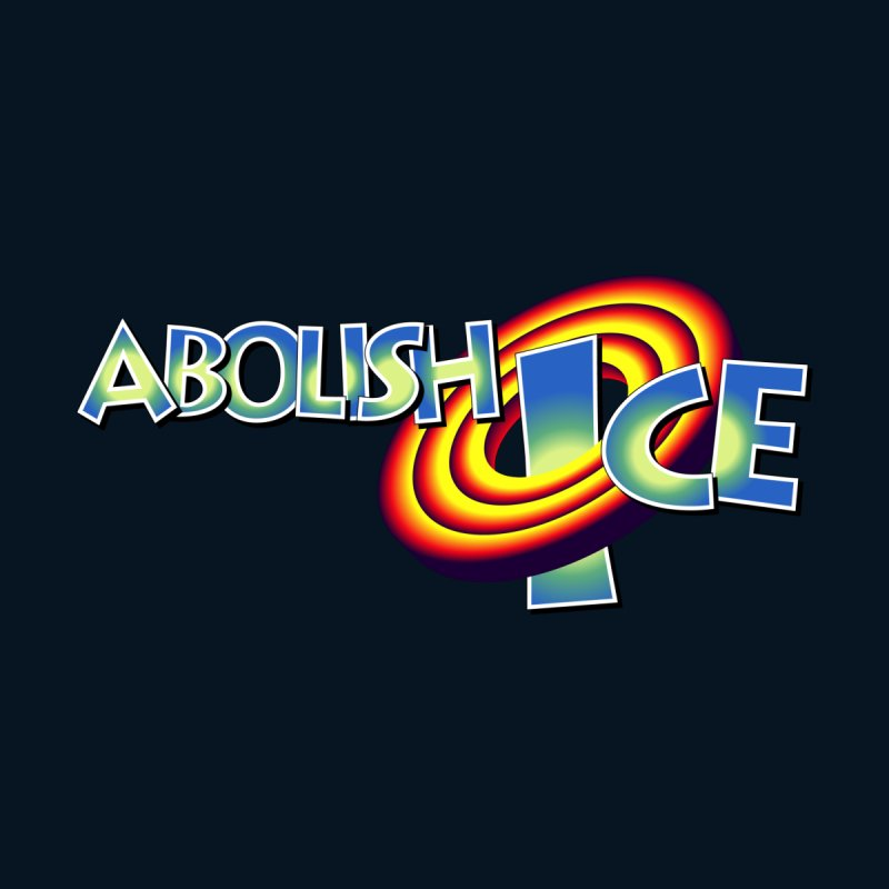 ABOLISH I.C.E. Space Jam Men's T-Shirt by Teenage Stepdad