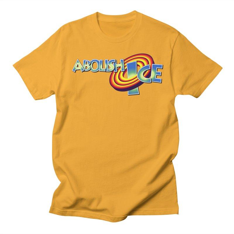 ABOLISH I.C.E. Space Jam Men's T-Shirt by Teenage Stepdad