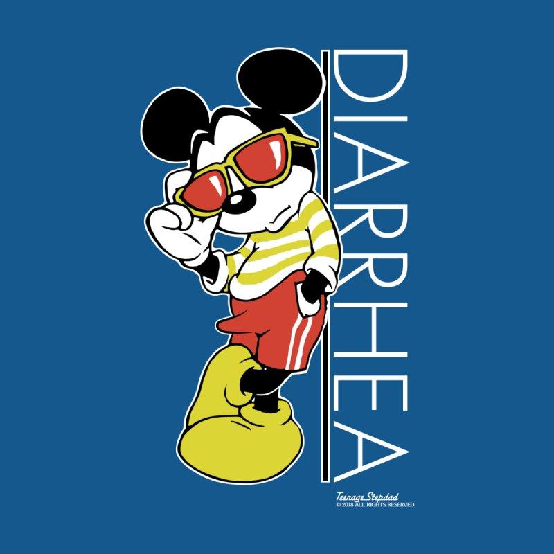 DIARRHEA Men's T-Shirt by Teenage Stepdad