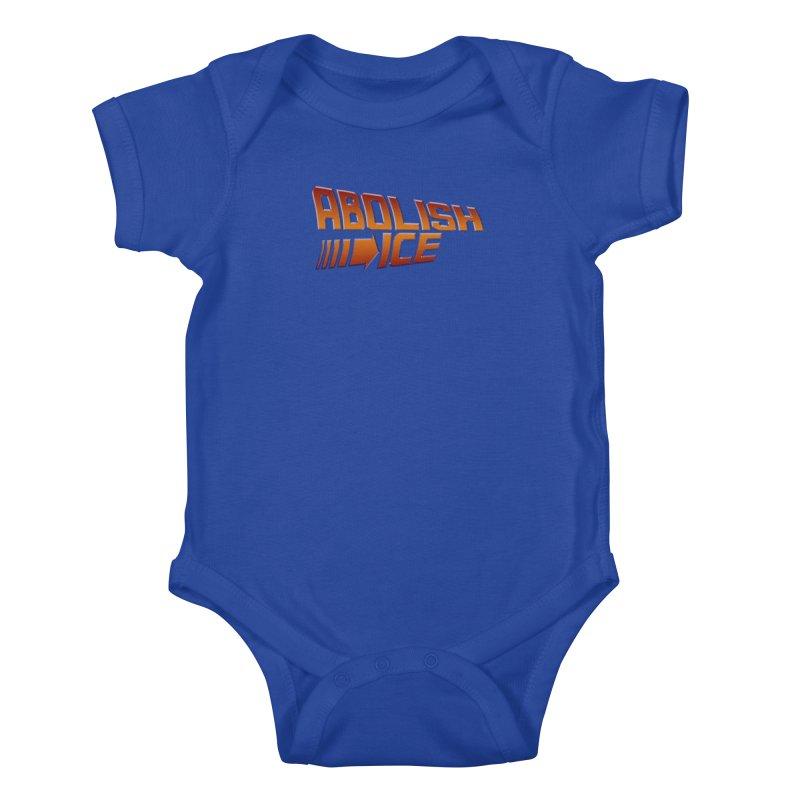 ABOLISH I.C.E. Back to the Future Kids Baby Bodysuit by Teenage Stepdad