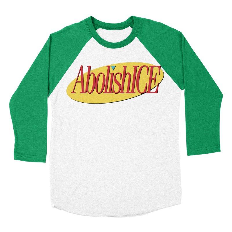 ABOLISH I.C.E. Seinfeld Men's Baseball Triblend Longsleeve T-Shirt by Teenage Stepdad