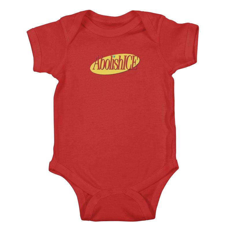 ABOLISH I.C.E. Seinfeld Kids Baby Bodysuit by Teenage Stepdad