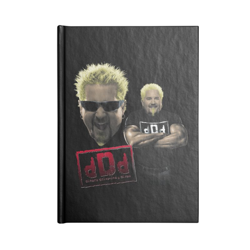 NEW GUY ORDER Accessories Blank Journal Notebook by Teenage Stepdad