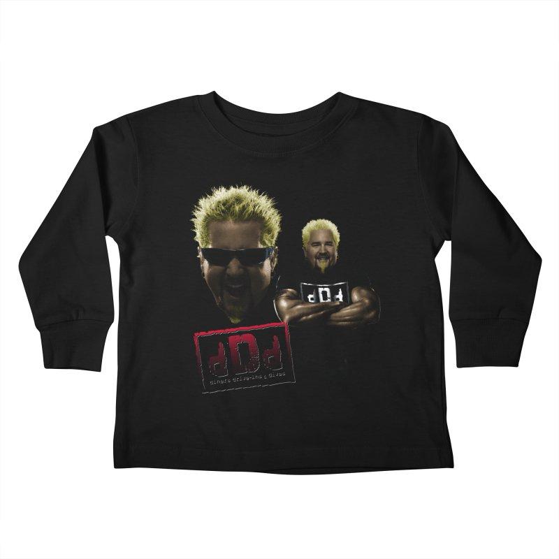 NEW GUY ORDER Kids Toddler Longsleeve T-Shirt by Teenage Stepdad