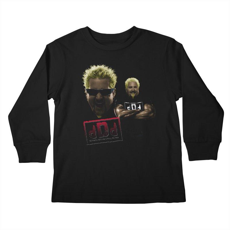 NEW GUY ORDER Kids Longsleeve T-Shirt by Teenage Stepdad