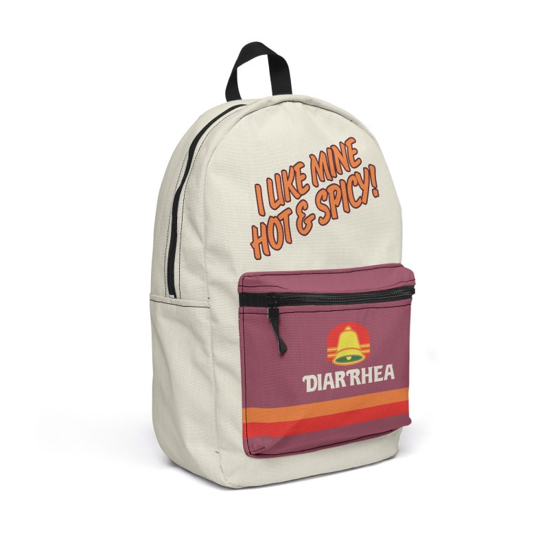 HOT & SPICY Accessories Backpack Bag by Teenage Stepdad
