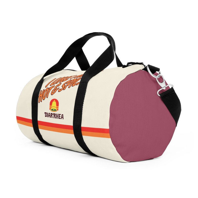 HOT & SPICY Accessories Duffel Bag Bag by Teenage Stepdad