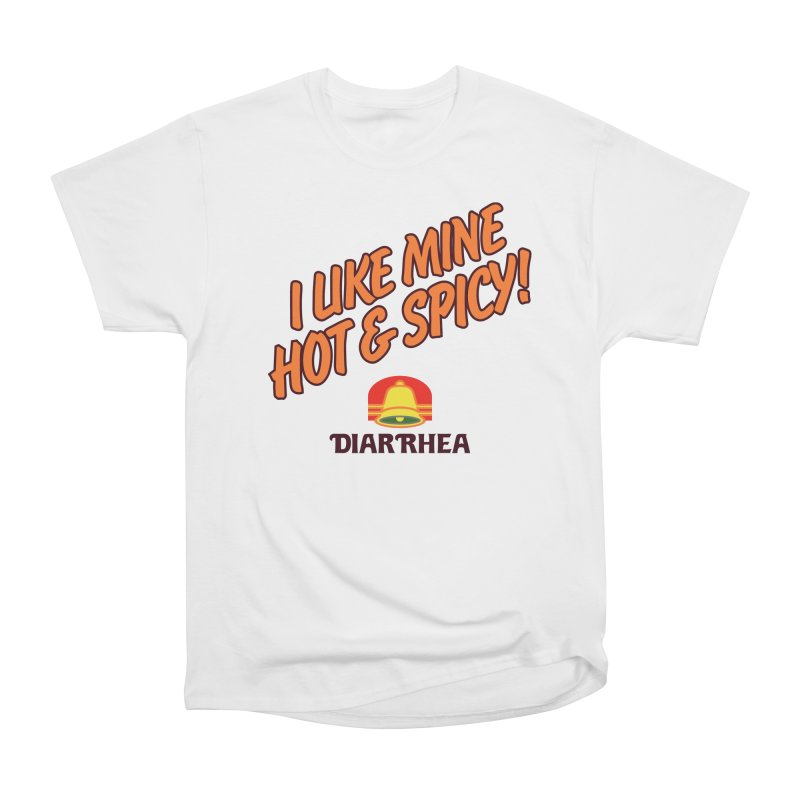 HOT & SPICY Men's Heavyweight T-Shirt by Teenage Stepdad